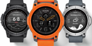 All about the Mission, Nixon's Premier Android Wear