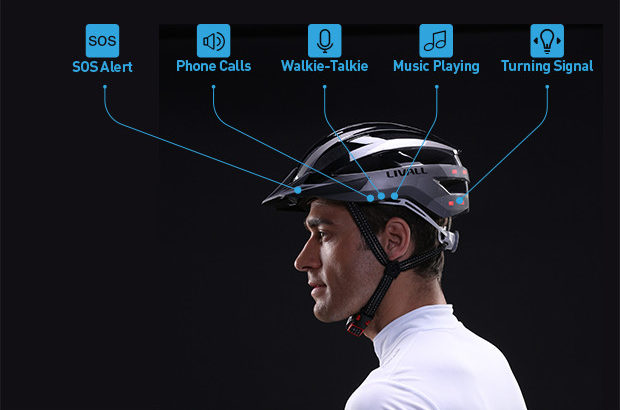 Livall Smart Cycling Helmet Commuters Saver.