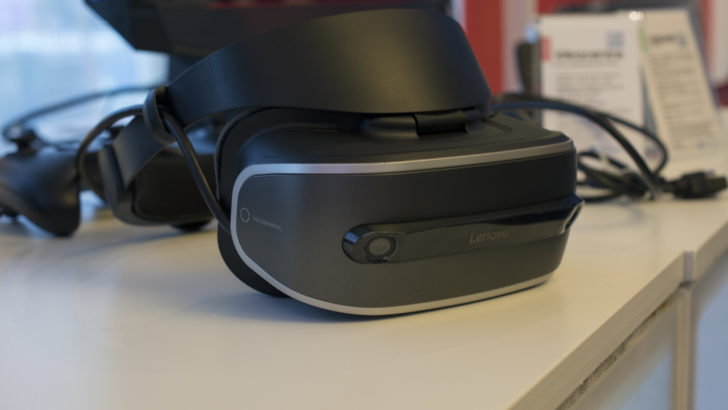 Lenovo's Windows Holographic VR Headset.