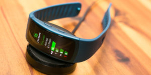 Samsung Gear Fit 2 fitness tracker review.