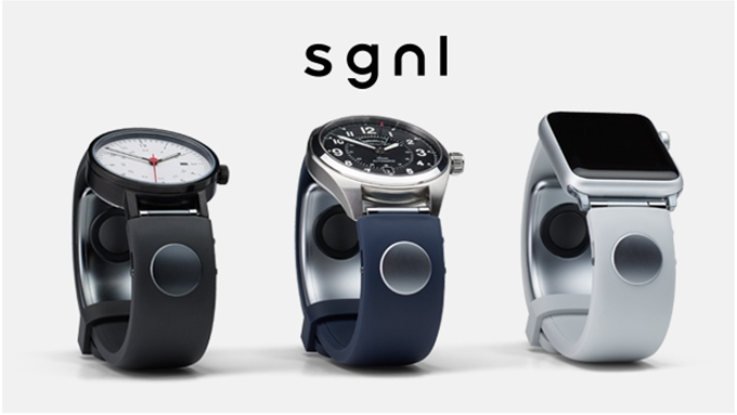 Sgnl Smartwatch,It all happens at your fingertips!