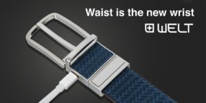 Welt Smart Belt Warns You When You're Gaining Weight!