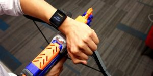 """The ViBand """"Whatever you touch"""" Detecting Smartwatch."""
